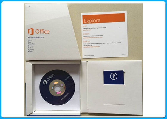 China Microsoft Office 2013 Professionele 269 - 16094 met 64 bits met 32 bits DVD 1 PC verdeler